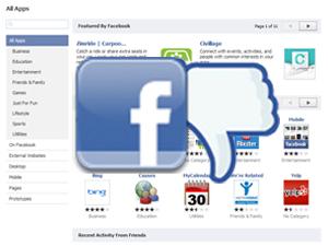 Facebook App Directory Gone