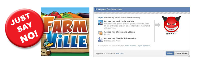 No FarmVille or App Requests