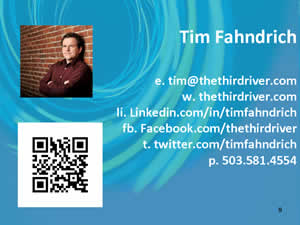 Connect with Tim Fahndrich