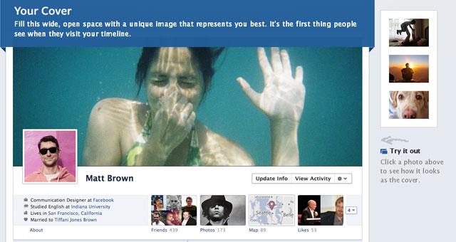 New Facebook Timeline Cover
