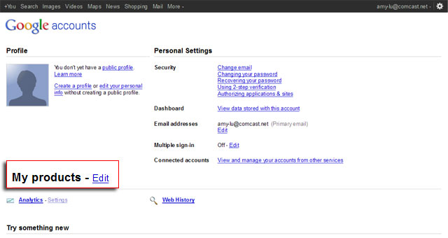 Tip- Delete Products and Accounts