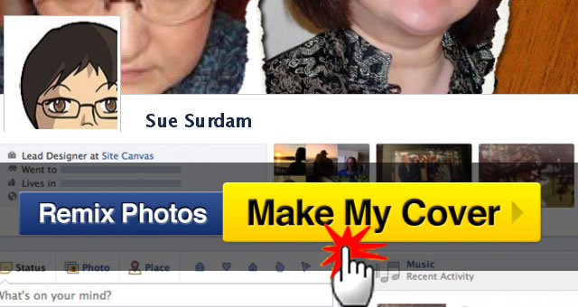 covercanvas facebook timeline cover maker make my cover