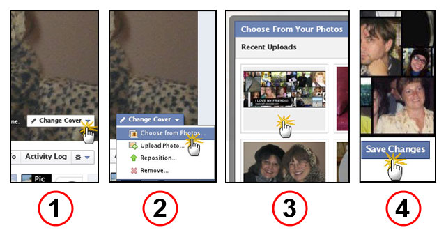 Facebook Timeline Change Cover Photo Basics