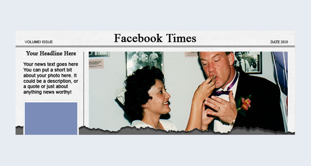 Artizon Digital News PSD Facebook Cover Template