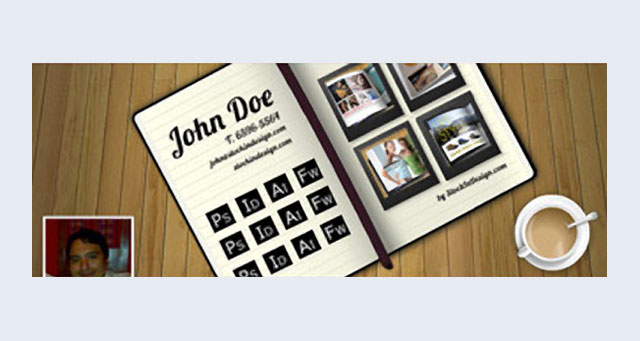 Free PSD Cover Photo Templates-Stock Indesign
