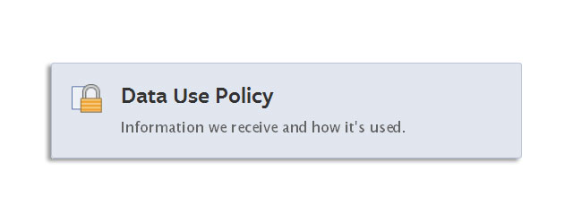 Facebook Data Use Policy