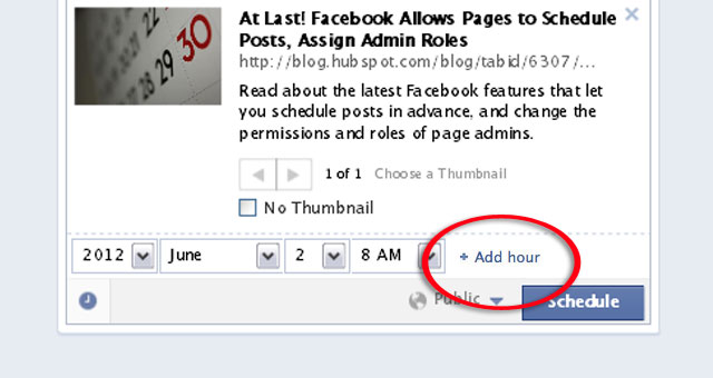 2 Schedule a Post From Facebook Page Timeline