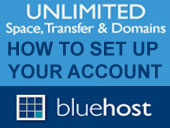 How to Setup a Bluehost Account