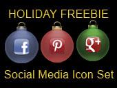 Social Media 101 Holiday Icon Set