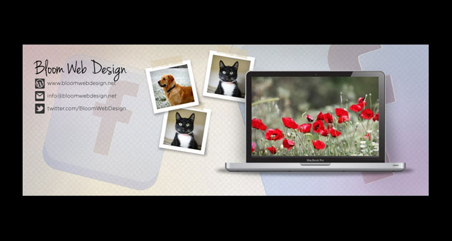 Facebook Cover Photo PSD Template 08
