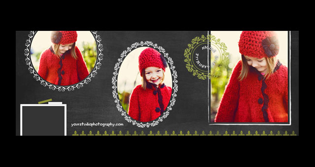 Facebook Cover Photo PSD Template 01