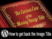 The Curious Case of the Missing Image Title