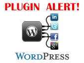 WordPress Plugin Social Media WidgetSpam Alert