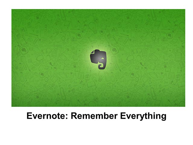 Evernote Basics 1