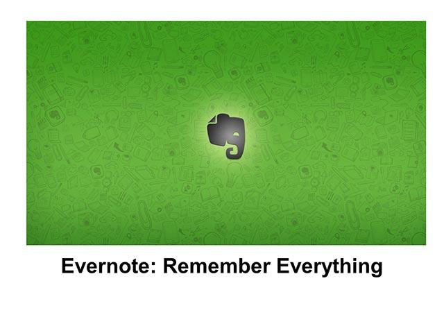 Evernote Basics 1