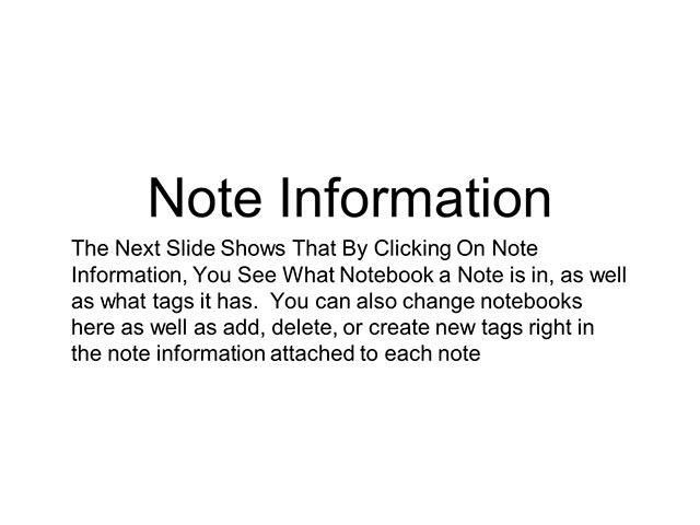 Evernote Basics 11