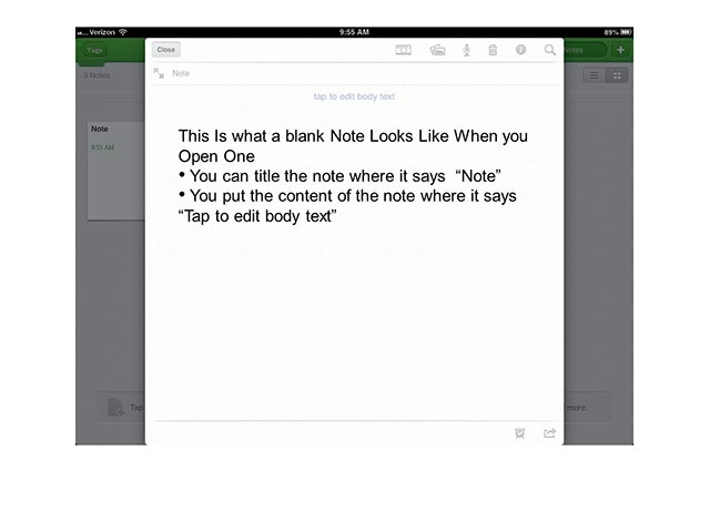 Evernote Basics 3