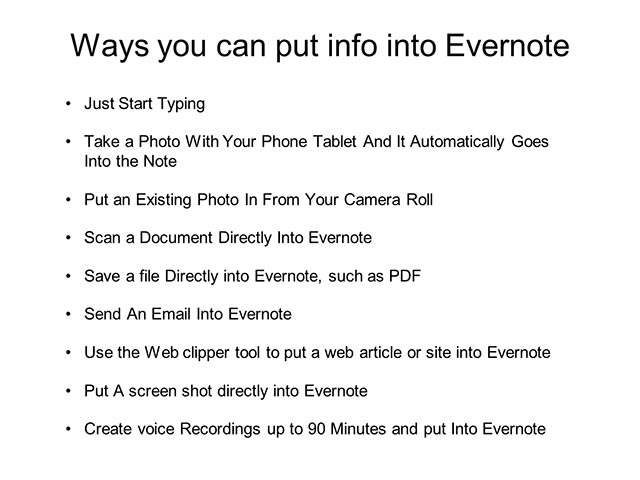 Evernote Basics 4