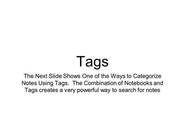 Evernote Basics 9