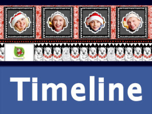 5 Free Christmas Holiday Facebook Cover Photo Photoshop PSD Templates