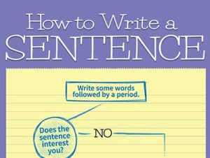 Writing Rocks Ultimate How to Write a Sentence Infographic