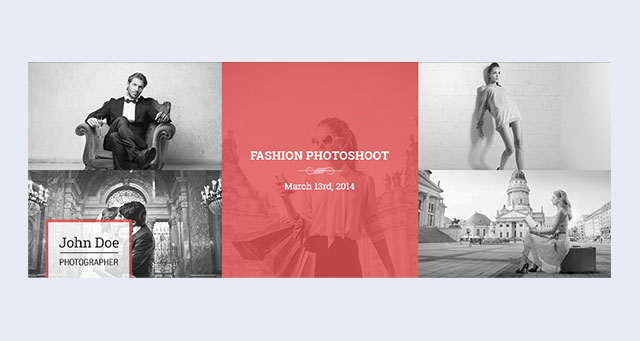 10 free facebook cover photo psd templates premiumcoding has designed a stylish 5 photo layout that is perfect for everything from business to weddings follow their design cue to making a group of pronofoot35fo Image collections